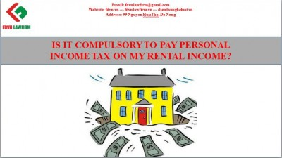 Is it compulsory to pay personal income tax on my rental income?