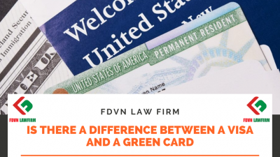 Is There a Difference Between a Visa and a Green Card