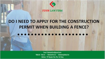 DO I NEED TO APPLY FOR THE CONSTRUCTION PERMIT WHEN BUILDING A FENCE?