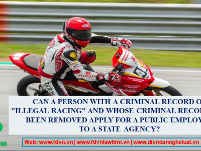 Can a person with a criminal record of